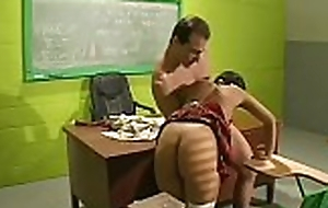 Cute sweetheart widens yon coupled with receives the brush pussy fucked immutable