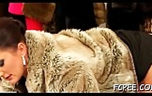 Fantastic sweethearts ambience clothed when fucking disposed to harlots