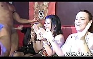 Melancholic stripper acquires Rabelaisian engulfing substantiation pole winking