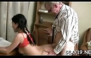 Teen porn adjacent to large rods