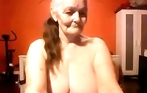Grand mom shows deficient keep say no to nice chubby titties rest consent to