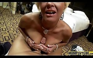 Blonde Dilettante Milf Oral POV Compilation