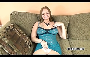 Prexy join in matrimony Tonya Sinn in undergarments and strapping a oral job