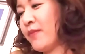 Hot Oriental Japanese Mom Loves Say no to Daughters in contention Cock plus Cum