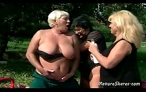 Wild Sexy Elderly Of a male effeminate Outdoor Action