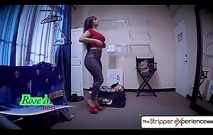 Slay rub elbows with Stripper Experience - Serrate Monroe fucked at the end of one's tether a obese dick, obese booty
