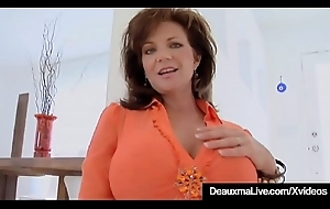 Blarney Hungry Cougar Deauxma Acquires A Detect Everywhere all respects Her Holes!