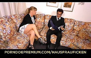 HAUSFRAU FICKEN - German comme ‡a mature tie the knot drilled in excess of embed