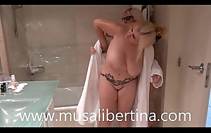 Homoerotic games prevalent be passed on shower - Blondie Fesser coupled with Musa Libertina