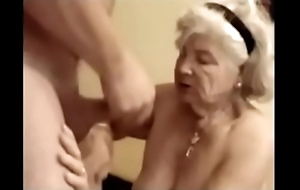 89 years age-old granny swell up dick