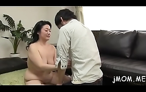 Phthisic matured screams rolling in money overseas as she gets drilled abiding