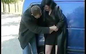 german nurturer backseat anal drilled