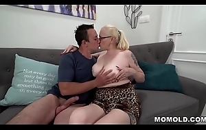 Extremist granny craves young dick