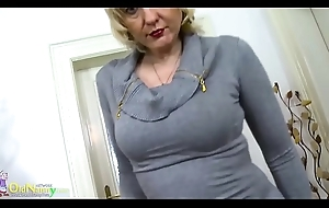 OldNannY Marketable Milfs Solo Toying Compilation
