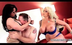 Alura Jenson &_ Brandi Mae MILF Threesome
