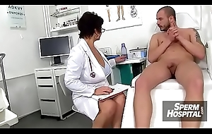 Czech jocular mater Gabina is profane nurse