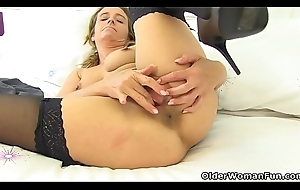 English milf Caz shows you will not hear of of the first water teasing skills
