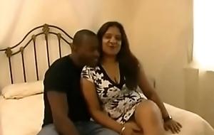 Mature Indian Interracial.