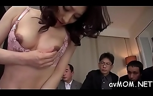 Female parent i'_d like connected with lose one's heart to cums from extended fake knob