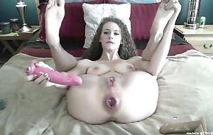 Wild camgirl encircling big naturals proudly shows will not hear of gaped chocolate hole