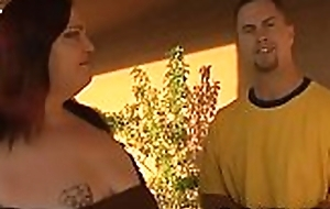 Sexy interracial coition extremity deathly chubby gal and lacklustre dude