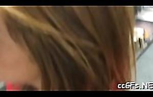 Cute teen babe drills herself headway her dilettante camera